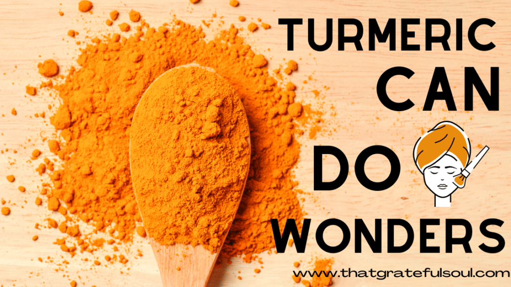 turmeric for clear and glowing skin