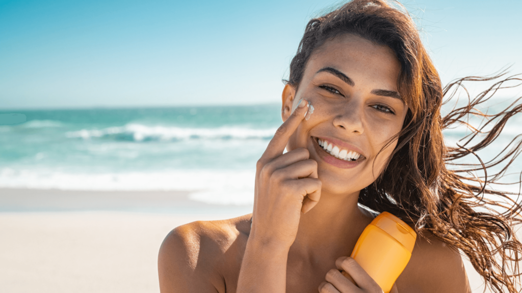 dealing with oily skin