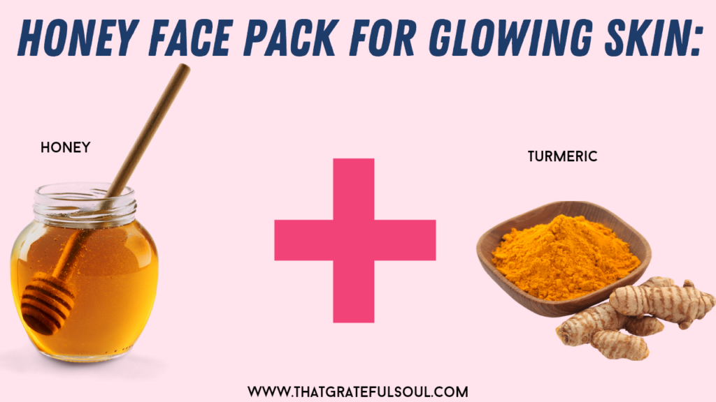 honey face pack for glowing skin